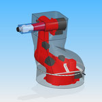 Industrial robot REIS ROBOTIC jacket protective cover