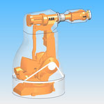 Industrial robot ABB  jacket protective cover