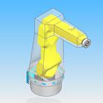 housse robot HDPR robotic cover fanuc lrmate 200id 7l