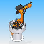 robot kuka piece fixation housse de protection robot hdpr