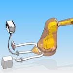 housse de protection pour robot fanuc hdpr ventilé