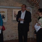 Andrea Theissen, Bezirksbürgermeister Hanke, Rachel Kohn