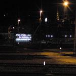 Rüdisüli by Night, LOK Aussenwerbung