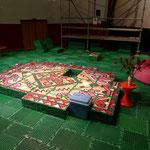 Probebühne Teppich für Kathan/Karrer Oper