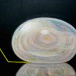 「しらたま」 2014 380×455mm キャンバスに油彩