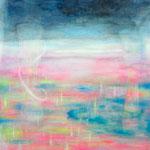 「最終ダンジョン」 2014 594×841mm 紙に水彩、アクリル、色鉛筆