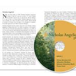 Livret, double page / Habillage DVD.