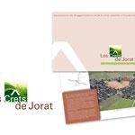 """Atelier 94 Architecte SA, """"Les Crêts de Jorat"""". Logo / Fourre de présentation du projet immobilier."""