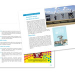 """Dialogai, """"Rapport d'activité 2014"""". Plaquette, double page"""