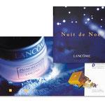 """Lancôme, """"Nuit de Noël"""". Plaquette"""