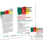 """Dialogai, """"Homophobie meurtrière au Cameroun"""". Programme / Annonce"""