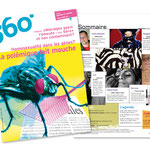 Magazine 360°. Rédaction Image / Illustration couverture du n° 73