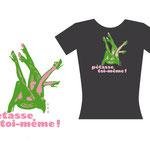 360° Fever, Soirée et concert.  Logo /  T-shirt