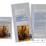 """Dialogai, Exposition """"Les condamnés"""". Annonce / Flyer"""