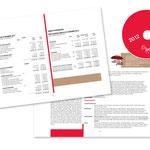 """Aspasie, """"Rapports d'activité 2012"""". Plaquette, double page"""