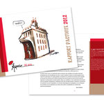 """Aspasie, """"Rapports d'activité 2012"""". Plaquette"""