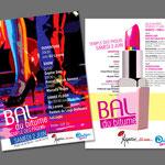 """Dialogai et Aspasie,""""30 ans"""". Flyer / Annonce / Programme"""