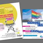 "Dialogai, Festival ""Everybody's perfect"". Annonce / Evénement Flyer."