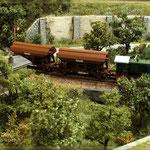 V36 unterwegs mit Getreide