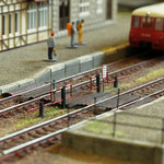 Bahnsteigsperre offen