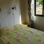 Chambre avec lit double.
