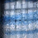 """détail du vitrail """"pénitence"""".Atelier Théophile.Philippe Brissy. Saumur"""