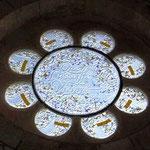 la rosace Nord (ancien Testament). Philippe Brissy. Atelier Théophile. Saumur