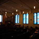 une vue de l'église. Atelier Théophile.Philippe Brissy. Saumur
