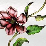 Atelier Théophile - Philippe Brissy - Saumur - verres émaillés - détail