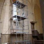 les moyens d'accès. Atelier Théophile.Philippe Brissy. Saumur
