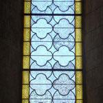 large détail d'une fenêtre. Atelier Théophile.Philippe Brissy. Saumur