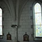 une vue de la nef. Philippe Brissy. Atelier Théophile. Saumur