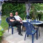 Auf dem Rückweg noch ein Besuch am Bodensee