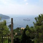 Über den Dächern von Nizza..... Blick auf den Hafen von  Nizza