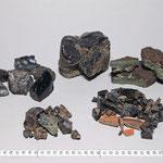 Bei Grabungen 2010 und 2011 fanden sich Schlacken der Saigerhütte. Bereits 1987 wurde ein Silberprobierschälchen aus dem Labor der Saigerhütte gefunden.