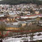 Das Gelände der historischen Saigerhütte in Ludwigstadt wie es heute ist.