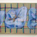 上顎右上6番 24×33   2018 キャンバス、油彩、ペン