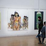 東京五美術大学連合卒業・修了制作展 展示の様子