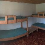 Das Leiterzimmer bietet vier Schlafplätze