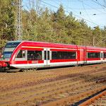 646 022 ist am 29.11.2011 als RB nach Potsdam Hbf