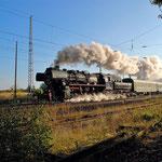 52 8177 mit Sonderzug aus Berlin am 28.09.2012