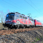 115 509 ist immer ein Bild wert – Bad Belzig 14.04.2015, Die zweite Lok 120 132
