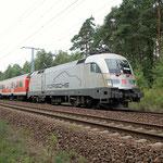 182 004 am km 33,6 Sie wurde für Schlungsfahrten von Triebfahrzeugführern eingesetzt – 09.09.2011