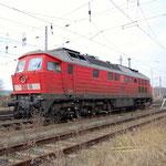 234 346  kam als Werksprobefahrt zur Einstellung der elektrischen Bremse nach Belzig – 26.02.2008