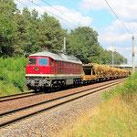 232 550 mit Bauzug Bad Belzig km 62,0 am 18.07.2013