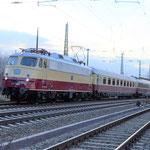 E10 1309 mit den Rheingold am 13.02.2016 nach Berlin