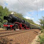 Sonderzug der Belziger Eisenbahnfreunde – 50 3610 am 29.08.2009 km 61,0
