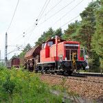 362 940 mit dem Nahgüterzug aus Brück an km 35,2 hat Den Güterbahnhof bald erreicht – 24.09.2014