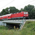 143 821 Gömnigk Planebrücke am 17.07.2007