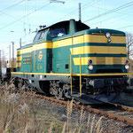 211 074 fährt aus den Überholungsgleis in Richtung Seddin aus – 29.10.2012